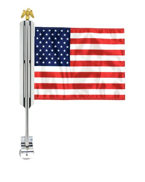 american flag truck car flag mount with 1 flag x50 flag mounts