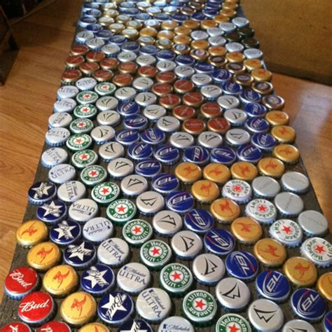 bottle cap bench 17 best images about bottle caps wine corks dominos cans