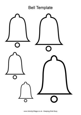 Christmas Templates Bell Template