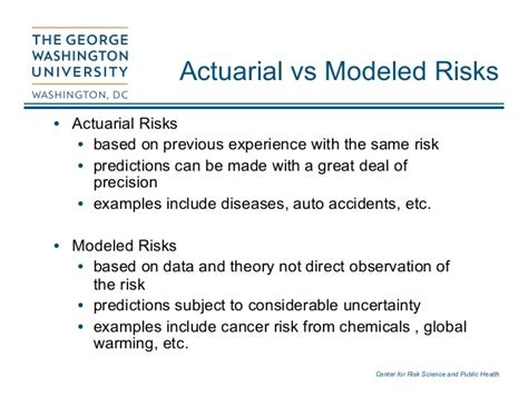 Mba Vs Actuarial Science by Risk Assessment With Actuarial Data George Gray
