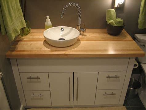 butcher block countertops in bathroom 78 best images about butcher block projects on pinterest