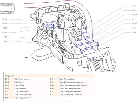 vauxhall corsa c fuse box wiring diagram schemes
