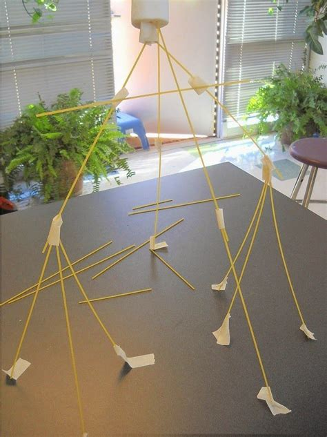 How To Make A Tower With One Of Paper - 25 best ideas about spaghetti tower on great