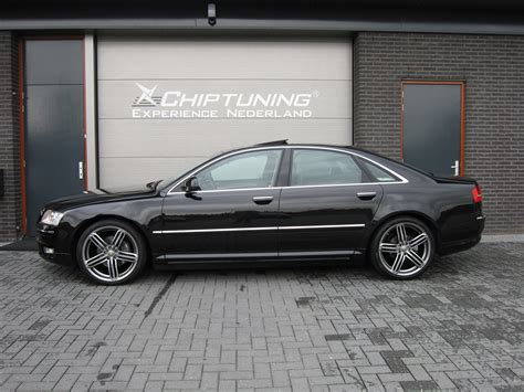 Audi A8 Chiptuning by Chiptuning Audi A8 2002 2007 4 2 Fsi Quattro 335pk A T