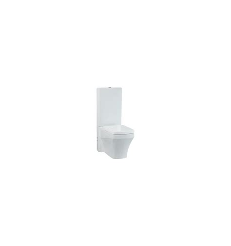 Combined Bidet Toilet by Creavit Sorti Combined Bidet Coupled Toilet All In