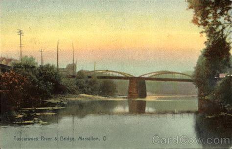 Massillon Post Office by Tuscarawas River Bridge Massillon Oh