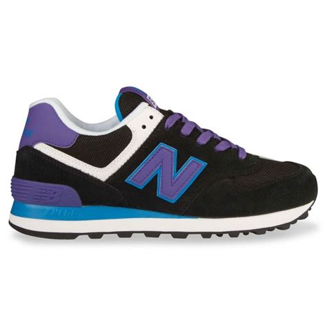 purple new balance sneakers cheap sale new balance 574 womens sneakers black purple