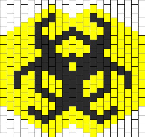 kandi pattern maker ipad biohazard mask pony bead patterns misc kandi patterns