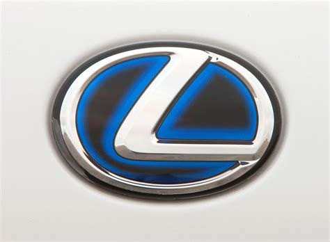 toyota hybrid logo ca wtb hybrid l logo with blue glow clublexus lexus