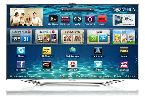 Samsung Tv Support by 55 Es8000 Series 8 Smart 3d Hdled Tv Samsung