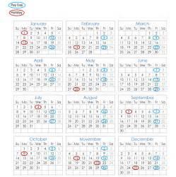 Calendar 2018 Government Payroll Calendar 2018 Paydays And Holidays