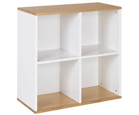 muebles de haya mueble almacenaje 4 compartimientos blanco haya