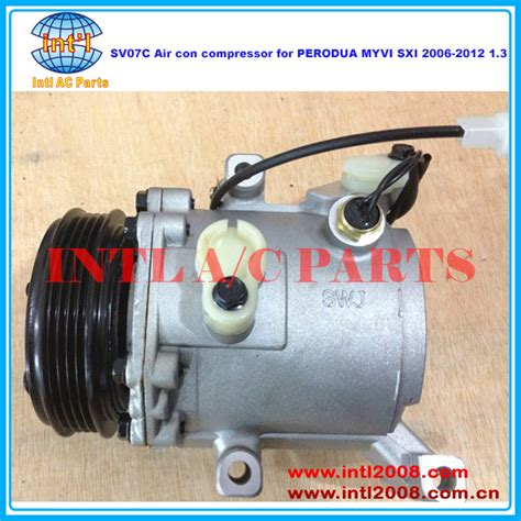 Kompresor Myvi denso sv07c air con compressor for perodua myvi sxi