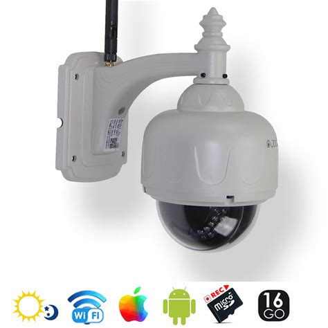 ip dome 233 ra ip d 244 me motoris 233 e ext 233 rieure 1 3mp 16go wifi