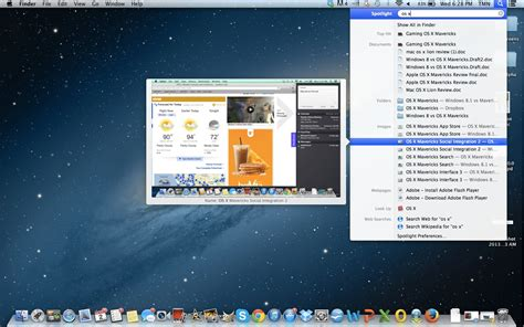 osx top bar how to use spotlight search on mac os x tips laptop magazine