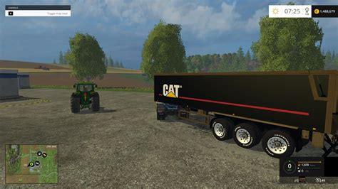 cat trailer cat v1 trailer for fs 15 farming simulator 2017 2015