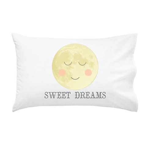 Sweet Dreams Pillow by Quot Sweet Dreams Quot 100 Cotton Pillowcase A Rhino