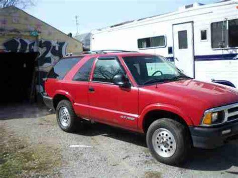 accident recorder 1996 chevrolet blazer seat position control purchase used 1996 chevrolet blazer ls sport utility 2 door 4 3l in louisville kentucky united