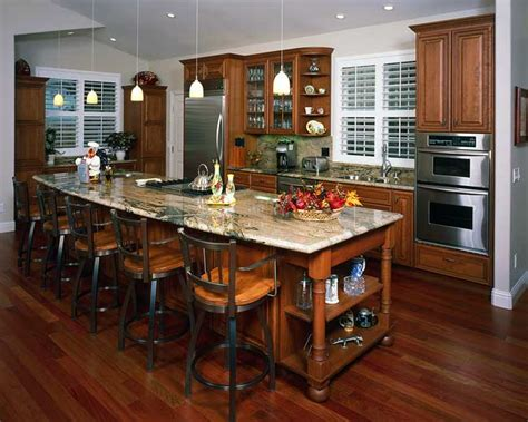 Open Kitchen Floor Plans Traditional Kitchens Kitchens