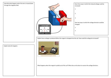 electromagnetic induction gcse aqa sound waves by matthewkeating teaching resources tes