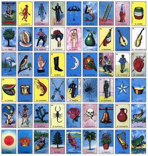 tablas de loteria mexicana para imprimir loteria mexicana imprimible archivo 200 tablas 4x4 o