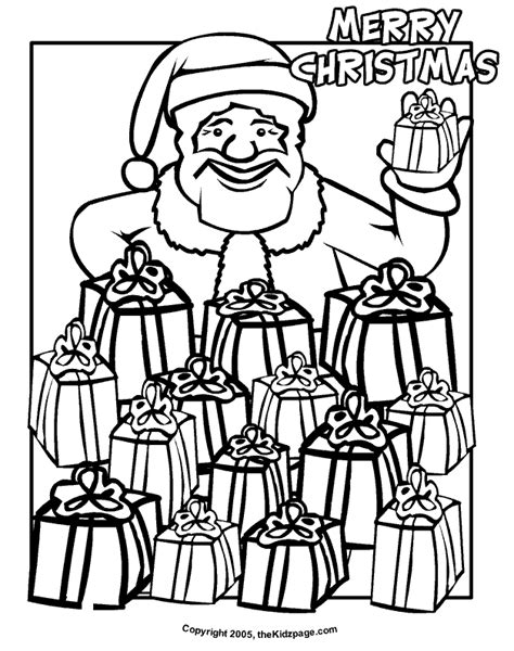 Merry Christmas Coloring Pages Coloring Home Merry Coloring Pages To Print