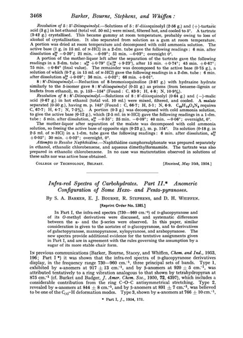 r s configuration carbohydrates infra spectra of carbohydrates part ii anomeric
