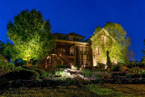 Landscape Lighting Company Light Up Nashville Wins Outdoor Lighting Awards For Superior Service