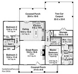 Country House Plans With Open Floor Plan Small House Floor Plans Small Country House Plans