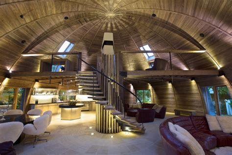 dome home interiors 8 ultra low energy passive houses around the world