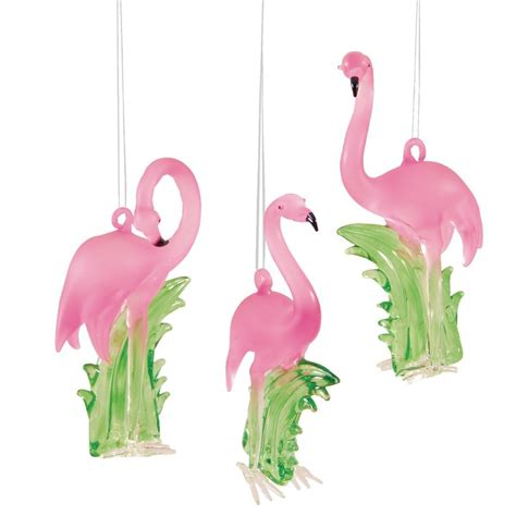 pink flamingo christmas ornaments whyrll com
