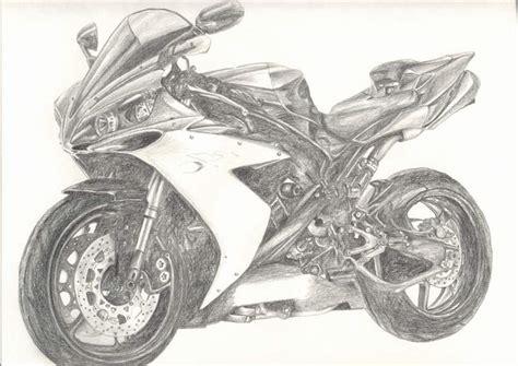 Motorrad Bilder Zeichnungen by Bild Motorrad Yamaha Skizzen Zeichnung Von Leona P