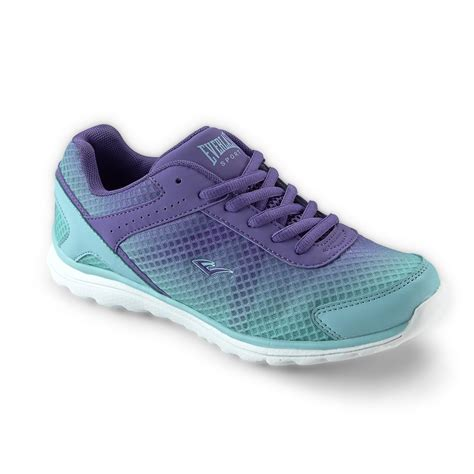 womens purple athletic shoes everlast 174 sport s fusion teal purple athletic shoe