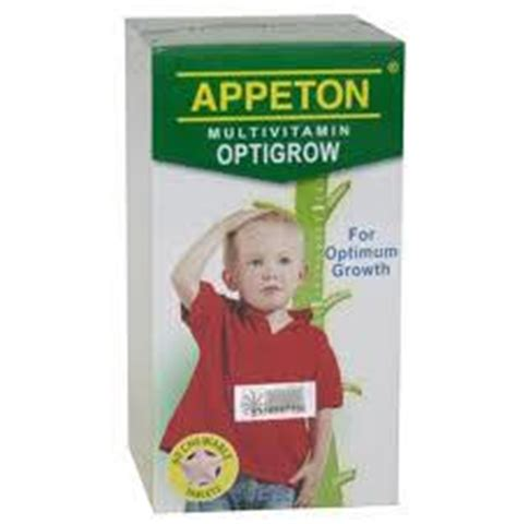 Appeton Grow organic penang what is appeton multivitamin optigrow