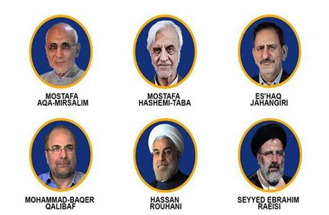 presidential election candidates list iran s interior ministry announces final list of