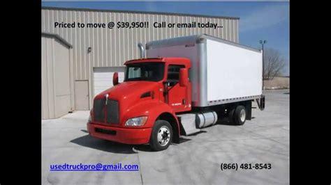 kw box truck image gallery kenworth box trucks