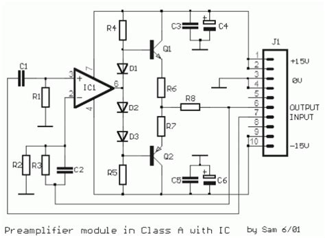 integrated lifier schematic class a modular prelifier with single integrated circuit eeweb community