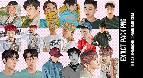 exo wallpaper pack exo png pack ex act comeback by ilitakishimacho on