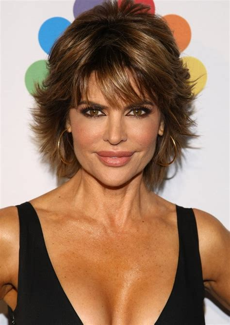lisa rinna hairstyle instructions 2013 2014 lisa rinna short hairstyle for thick hair male