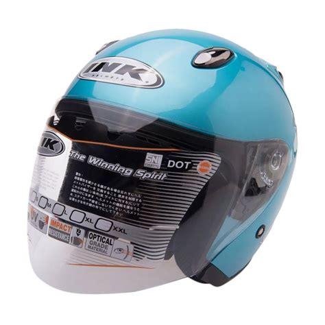 Helm Ink Centro Jet Solid Half Jual Ink Centro Jet Solid Helm Half Blue