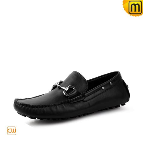 loafer black mens black brown leather loafers cw709098
