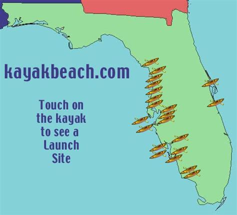 kayak map kayak map florida