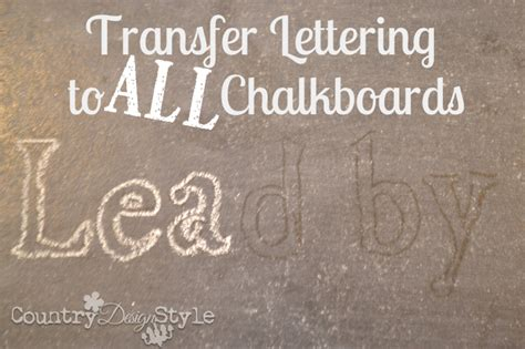 country style lettering chalkboard lettering country design style