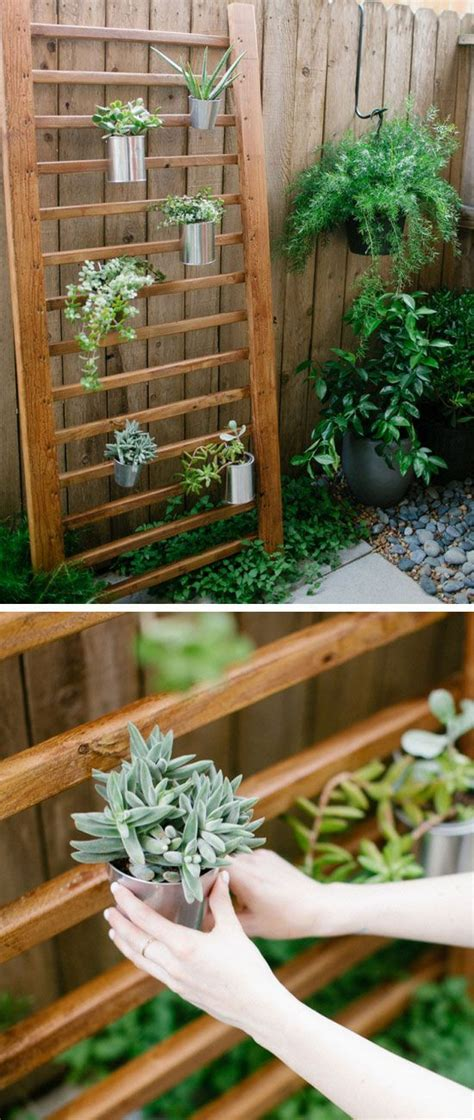 modern  creative vertical planter displays