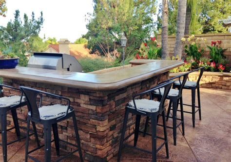The Patio Island by Mission Viejo Sted Concrete Patio Oc Landscaping