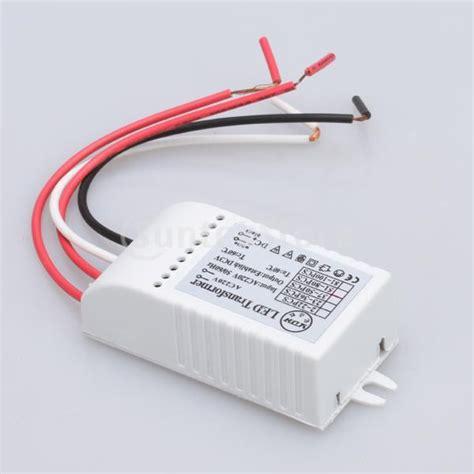 Free Shipping Input Ac 220v Led Transformer Power Supply Led Light Transformer