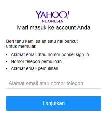 email yahoo tidak bisa masuk lupa password yahoo baca solusinya disini sepulsa
