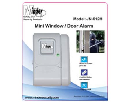 Door Window Entry Alarm Mini Gembok Alarm Pintu Jendela Sernaguna mini minder window and door alarm