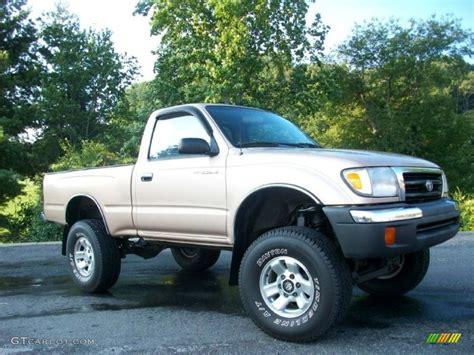 1999 Toyota Tacoma 4x4 Beige Metallic 1999 Toyota Tacoma Regular Cab 4x4