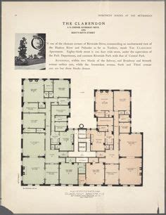 new york public library floor plan 1910 floor plan of the brentmore apartments from the